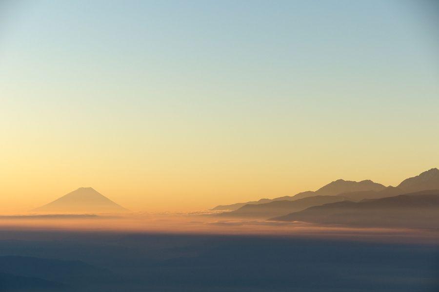日本の絶景 山と高原の風景