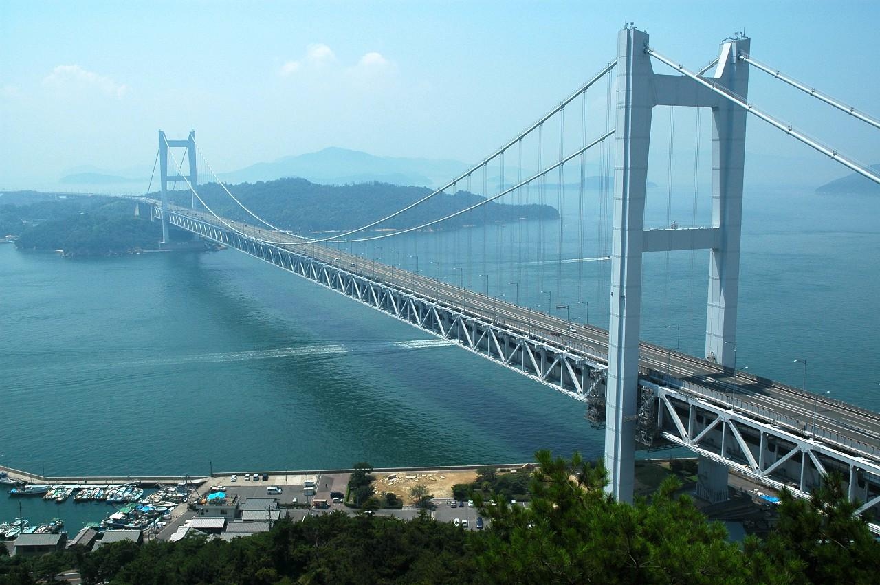 ... 瀬戸大橋(下津井大橋) 地図 : 日本地図の画像 : 日本