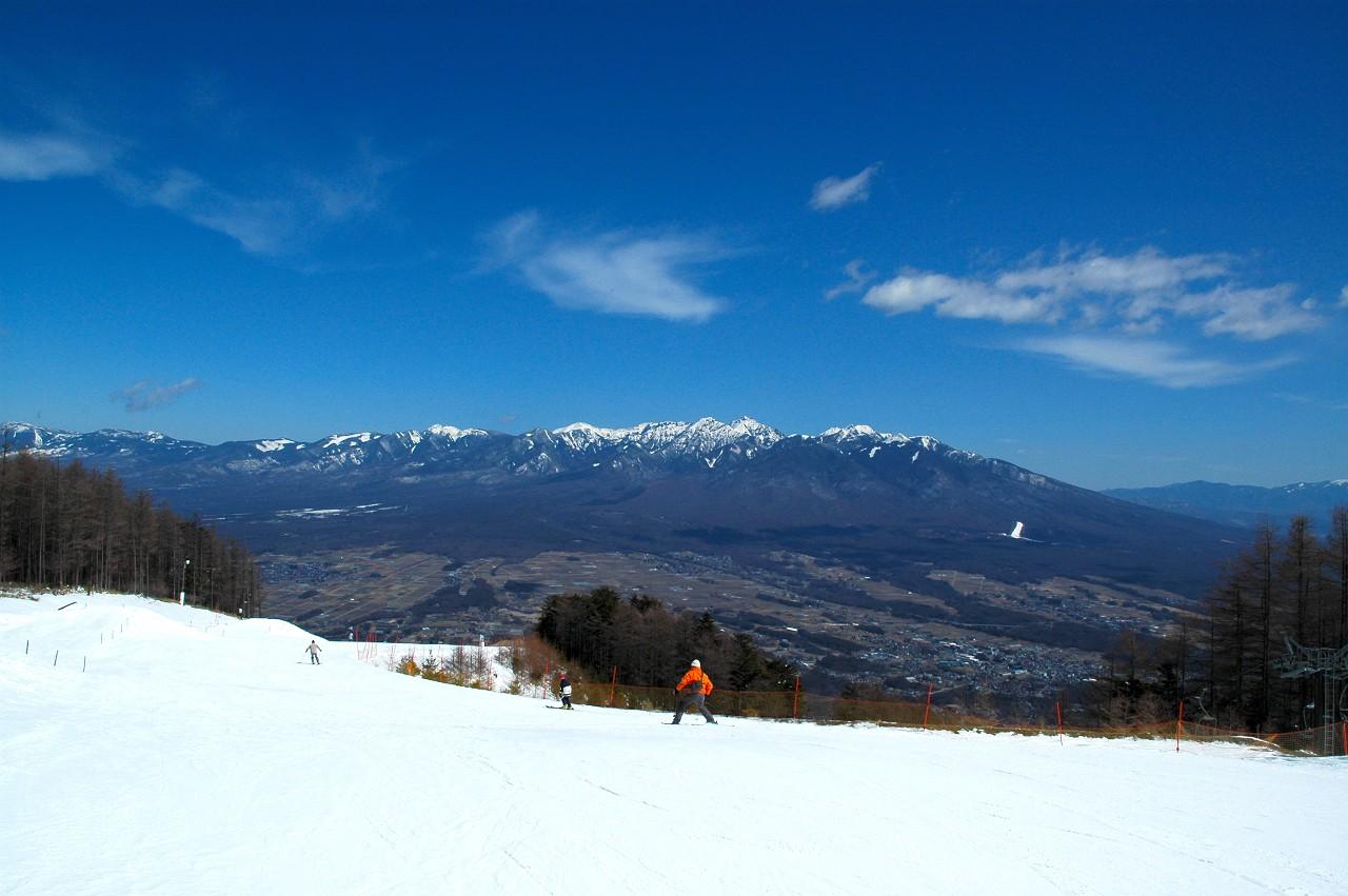 富士見パノラマ 3月14日 06-07スキーの記録